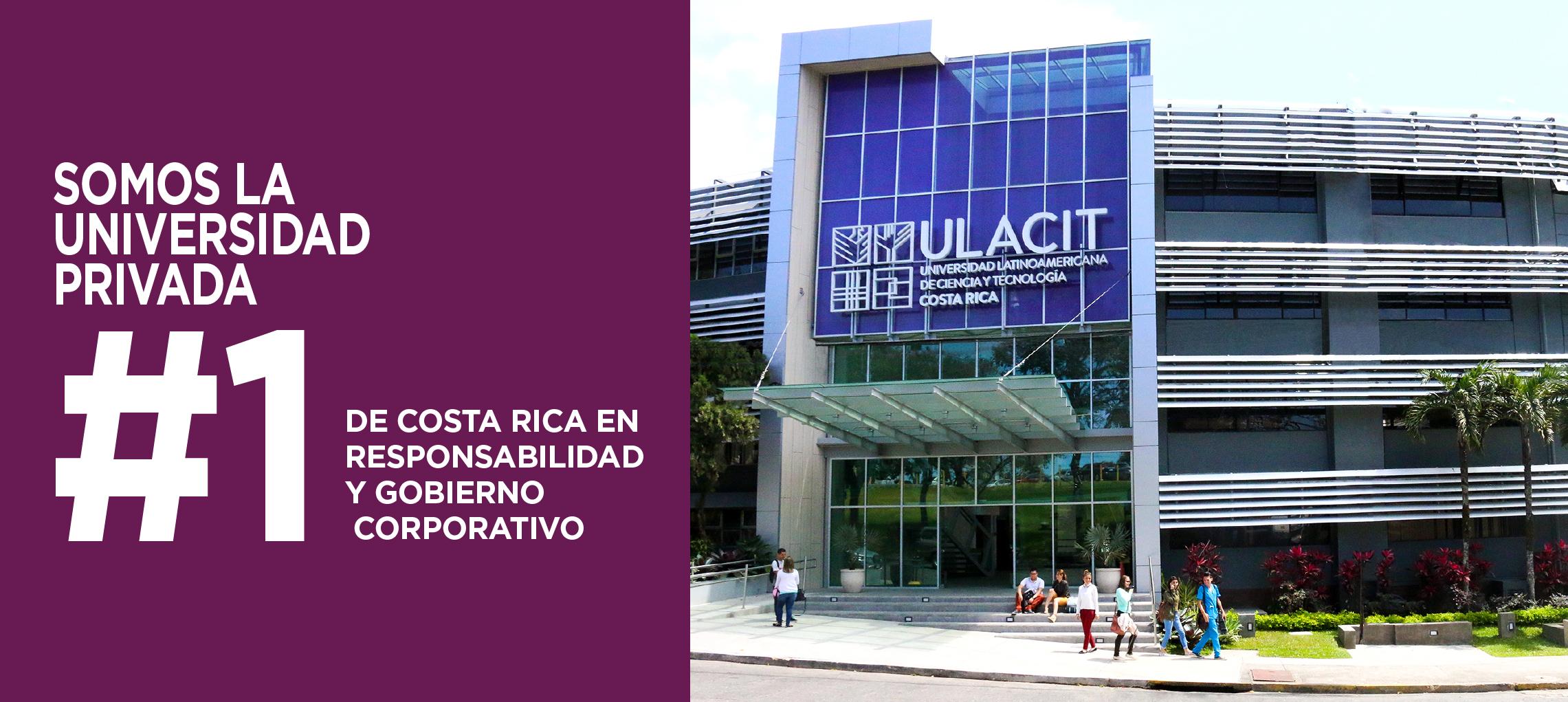 ULACIT es la mejor universidad privada del país en el índice de Responsabilidad y Gobierno Corporativo