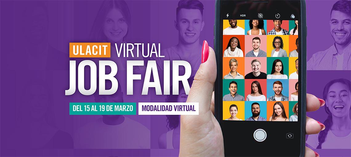 Feria de empleo Job Fair marzo 2021.